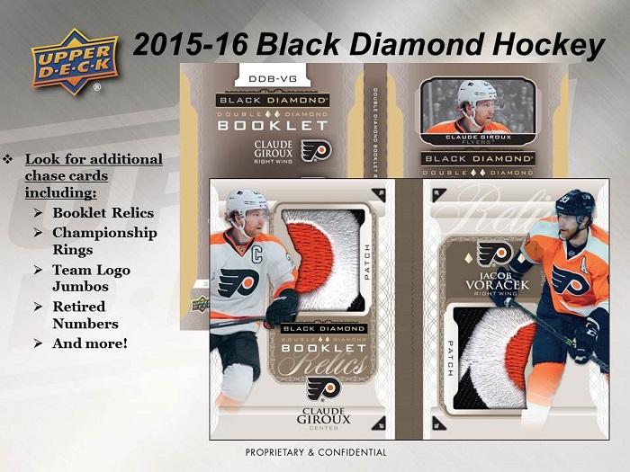 2015-16 Upper Deck Black Diamond Hockey