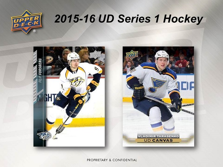 15-16 Upper Deck Series 1 Hockey Product Image Page 5