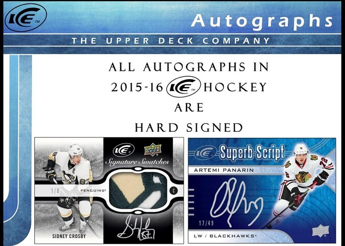 15-16 Upper Deck Ice Hockey Product Image Page 3