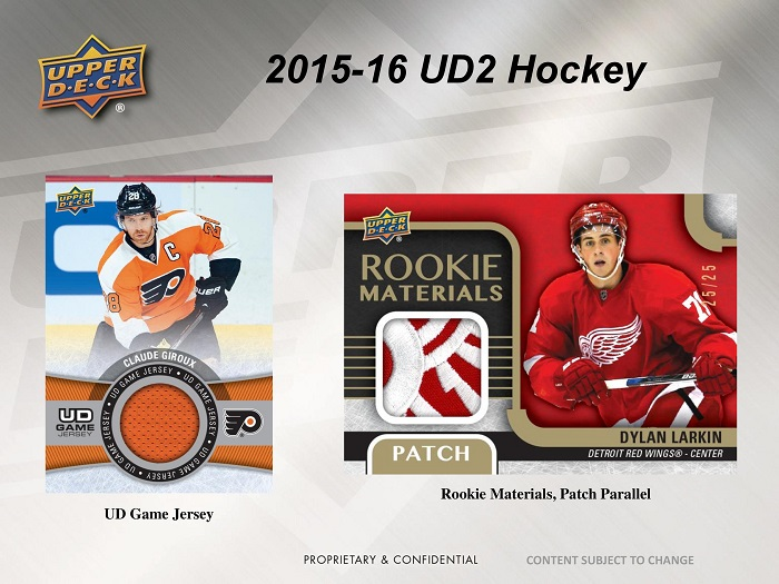 15-16 Upper Deck Series 2 Hockey Product Image Page 4
