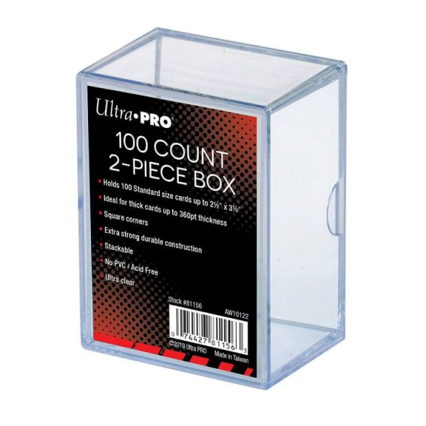 Ultra Pro 100 Count Two Piece Storage Box