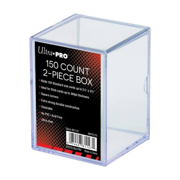 Ultra Pro 150 Count Two Piece Storage Box