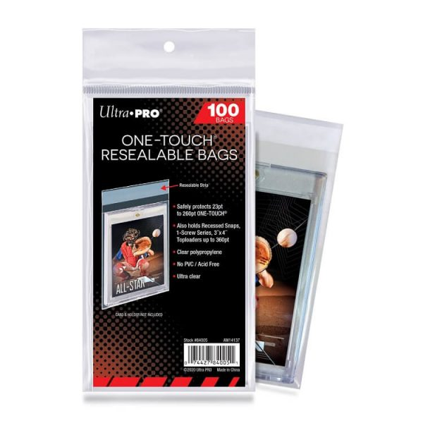 Ultra Pro Sleeves One-Touch Team Bags 100 Count Pack