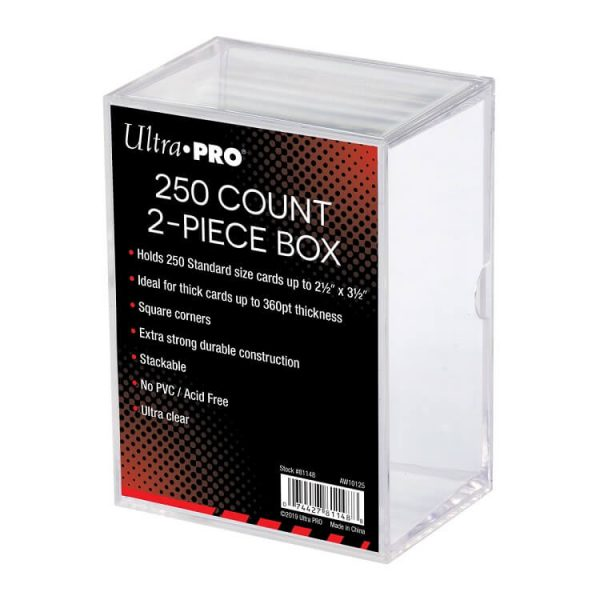 Ultra Pro 250 Count Two Piece Storage Box