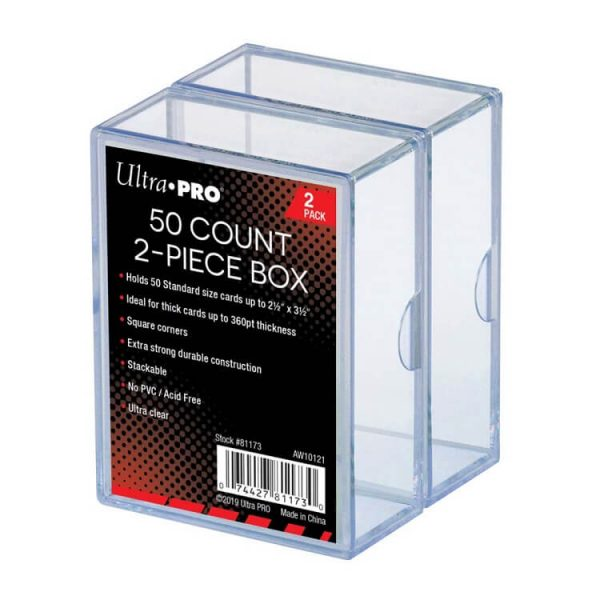 Ultra Pro 50 Count Two Piece Storage Box