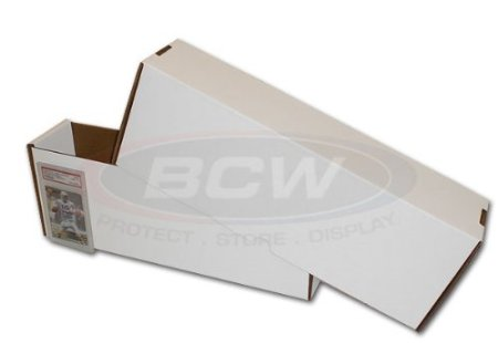 BCW Graded White Boxes