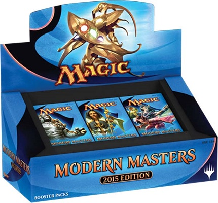 2015 Magic The Gathering Modern Masters Sealed Booster Box