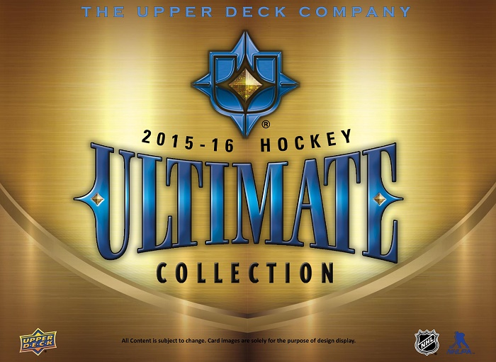 15-16 Upper Deck Ultimate Hockey Product Image Page 1