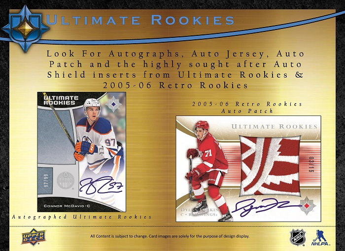15-16 Upper Deck Ultimate Hockey Product Image Page 3