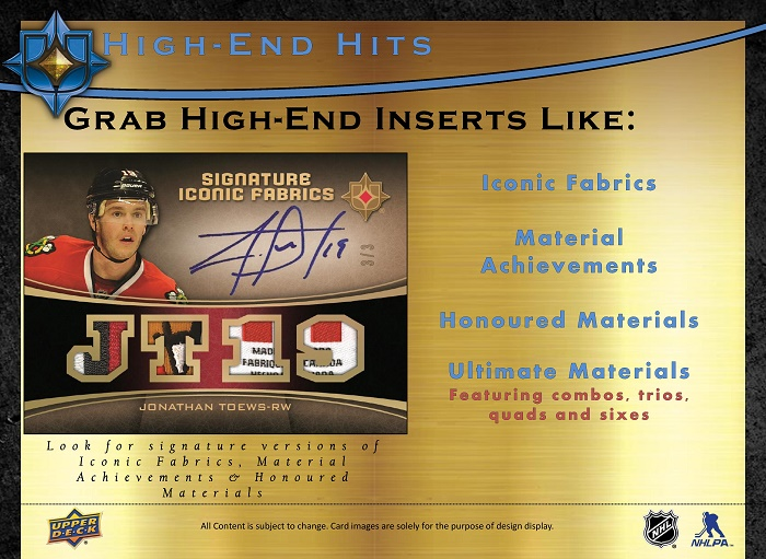 15-16 Upper Deck Ultimate Hockey Product Image Page 6