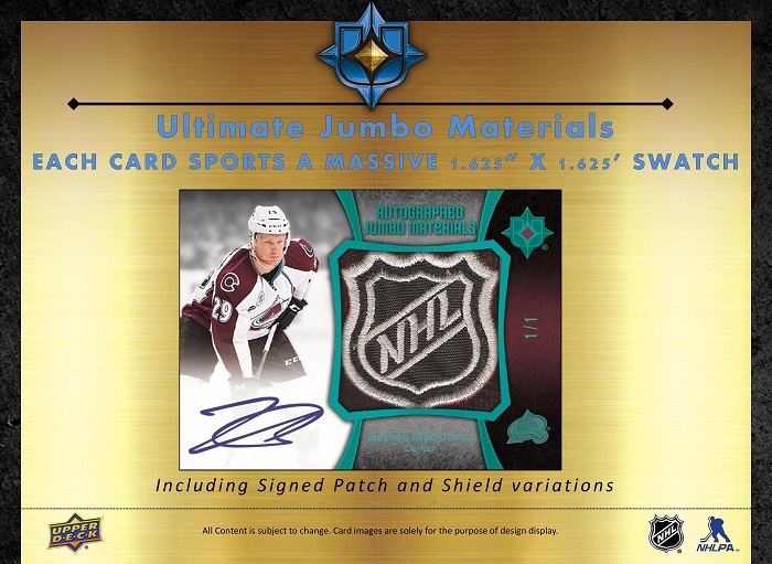 15-16 Upper Deck Ultimate Hockey Product Image Page 7