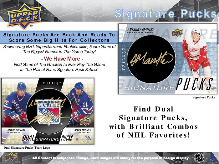 16-17 Upper Deck Trilogy Hockey Product Image Page 5
