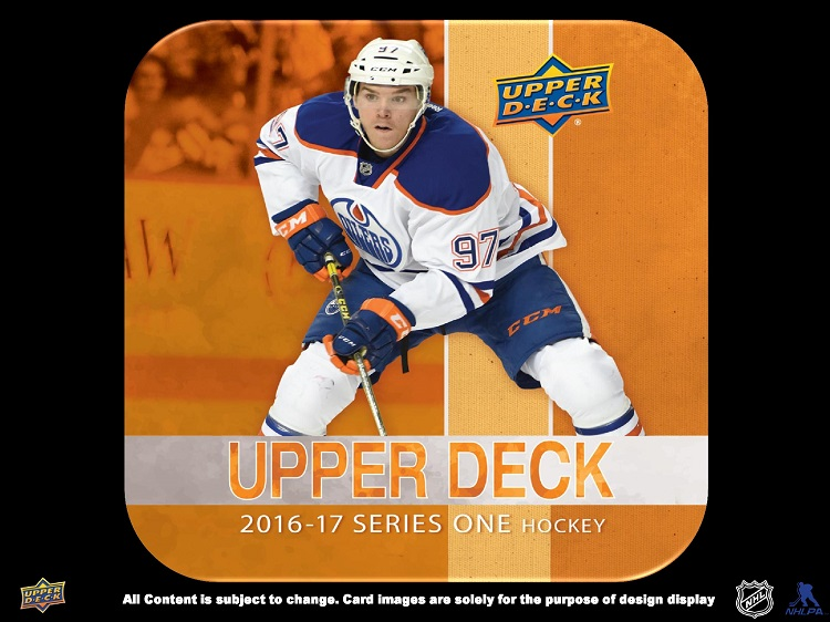 16-17 Upper Deck Series 1 Hockey Product Image Page 1