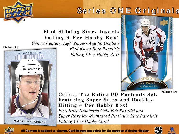 16-17 Upper Deck Series 1 Hockey Product Image Page 4