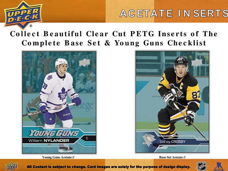 16-17 Upper Deck Series 1 Hockey Product Image Page 5
