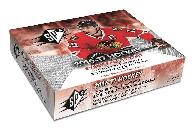 16-17 Upper Deck SPx Hockey Box