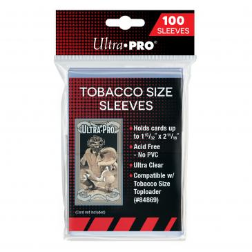 Ultra Pro Tobacco Soft Sleeves