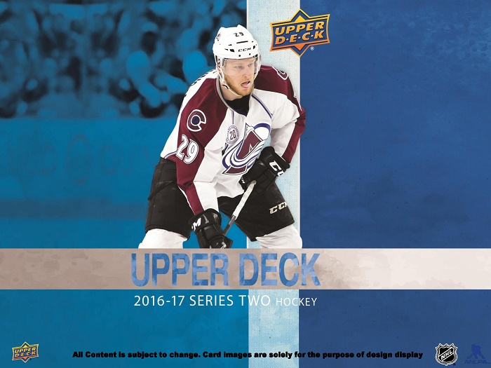16-17 Upper Deck Series 2 Product Image Page 1
