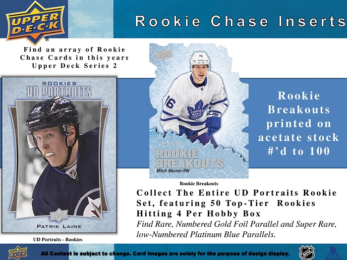 16-17 Upper Deck Series 2 Product Image Page 5