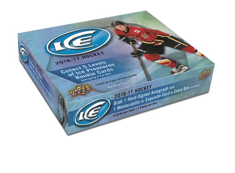 16-17 Upper Deck Ice Hockey Box