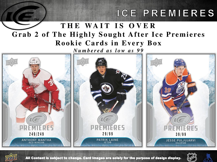 16-17 Upper Deck Ice Hockey Product Image Page 3