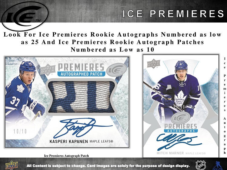 16-17 Upper Deck Ice Hockey Product Image Page 4