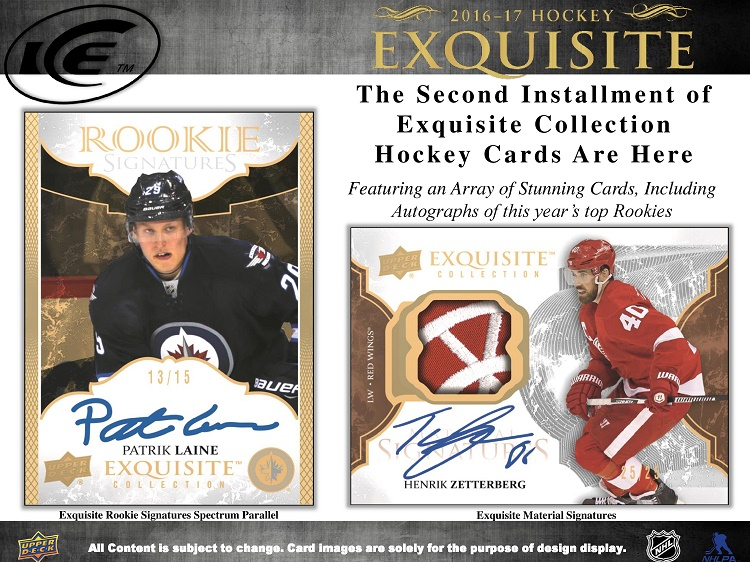 16-17 Upper Deck Ice Hockey Product Image Page 5