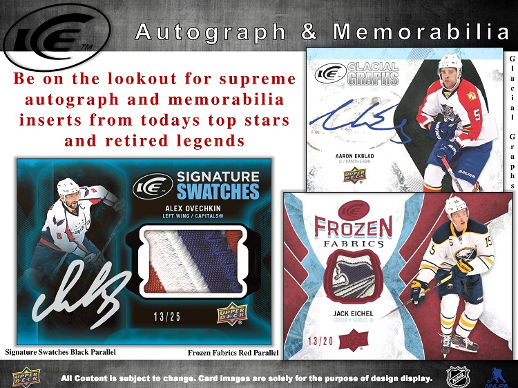 16-17 Upper Deck Ice Hockey Product Image Page 6