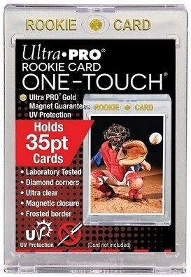 Ultra Pro 35pt Gold Rookie One Touch Magnetic Closure