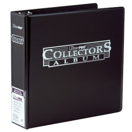Ultra Pro 3-Ring 3 inch Black Collectors Album Binder