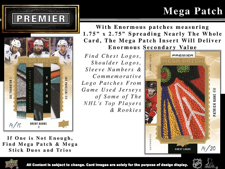 16-17 Upper Deck Premier Hockey Product Image Page 4