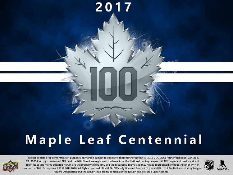 17-18 Upper Deck Centennial Hockey Product Image Page 1