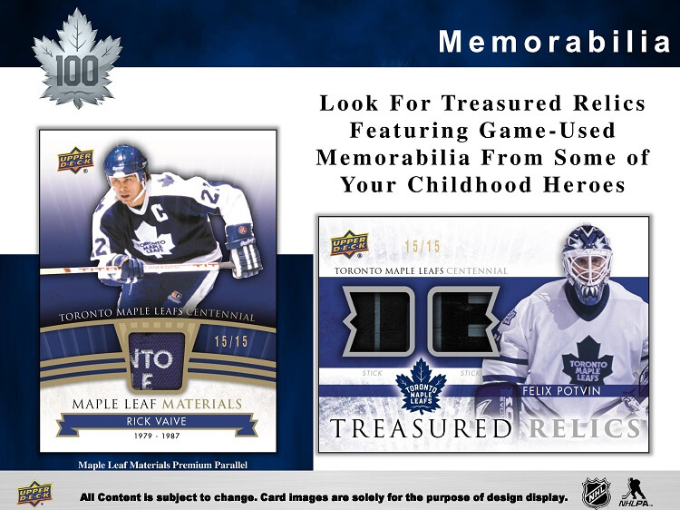 17-18 Upper Deck Centennial Hockey Product Image Page 4