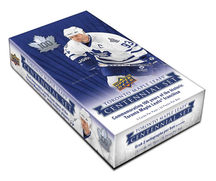 2017-18 Upper Deck Toronto Maple Leaf Centennial Hockey Hobby Box