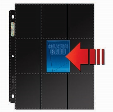 Ultra Pro 18 Pocket Side Loading Pages - 50 Count Box