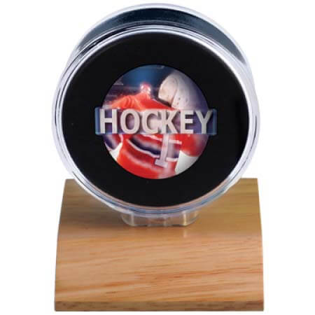 Ultra Pro Light Wood Puck Holder