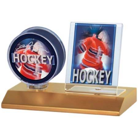 Ultra Pro Light Wood Card & Puck Holder