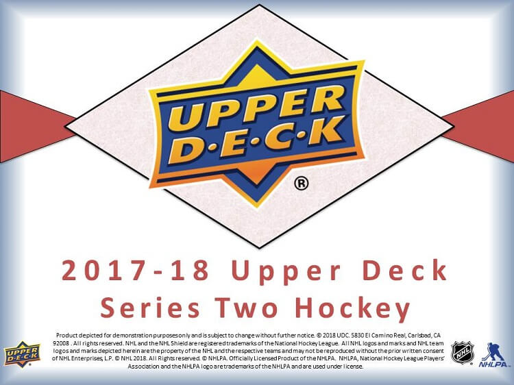 17-18 Upper Deck Series 1 Hockey Page 1