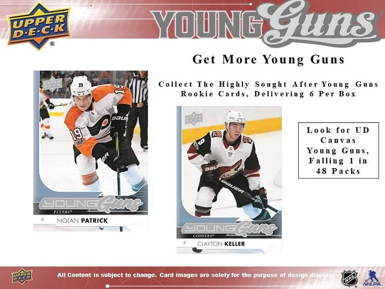 17-18 Upper Deck Series 1 Hockey Page 3