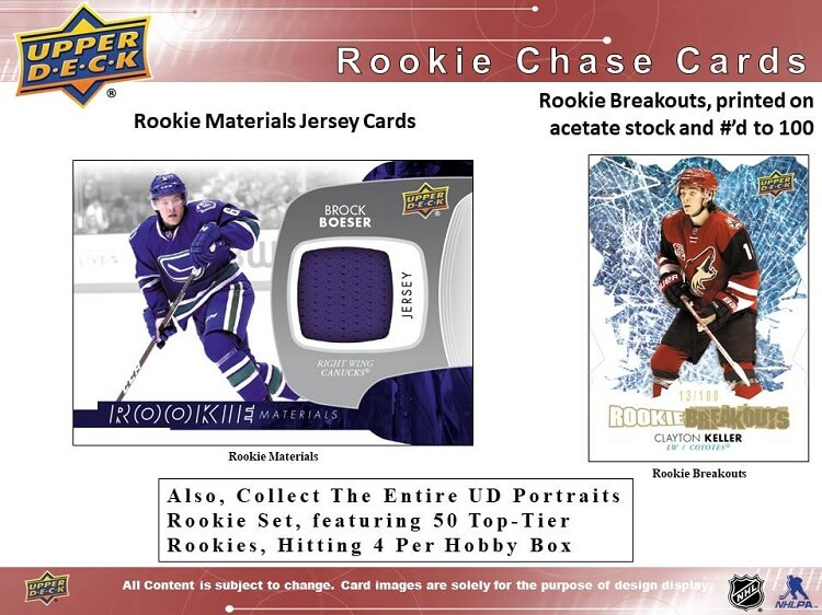 17-18 Upper Deck Series 1 Hockey Page 4
