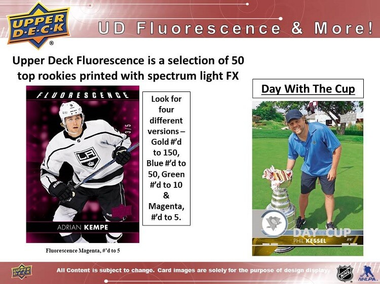17-18 Upper Deck Series 1 Hockey Page 5