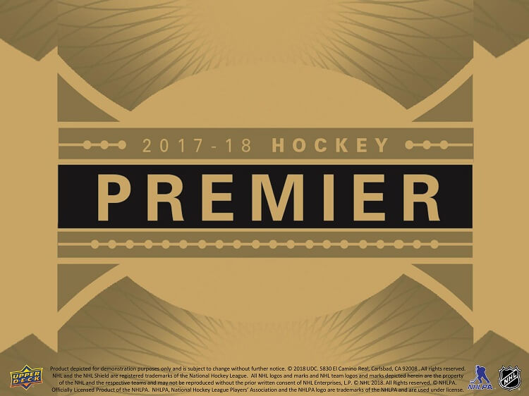 2017-18 Upper Deck Premier Hockey