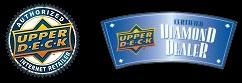 Upper Deck Internet Authorized Retailer and Upper Deck Certified Diamond Dealer