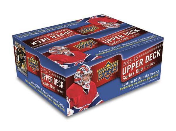 2015-16 Upper Deck Series 1 Hockey Retail Box