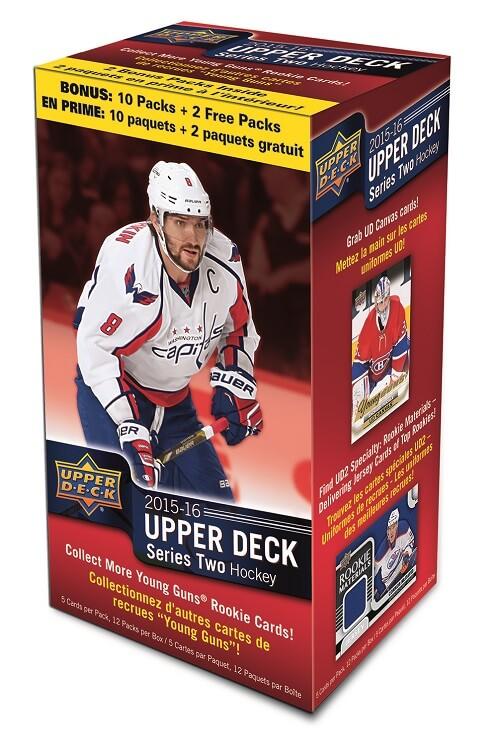 2015-16 Upper Deck Series 2 Hockey Blaster Box