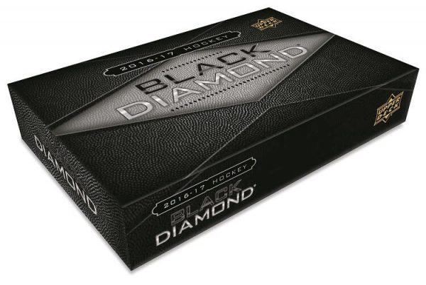 2016-17 Upper Deck Black Diamond Hockey Hobby Box