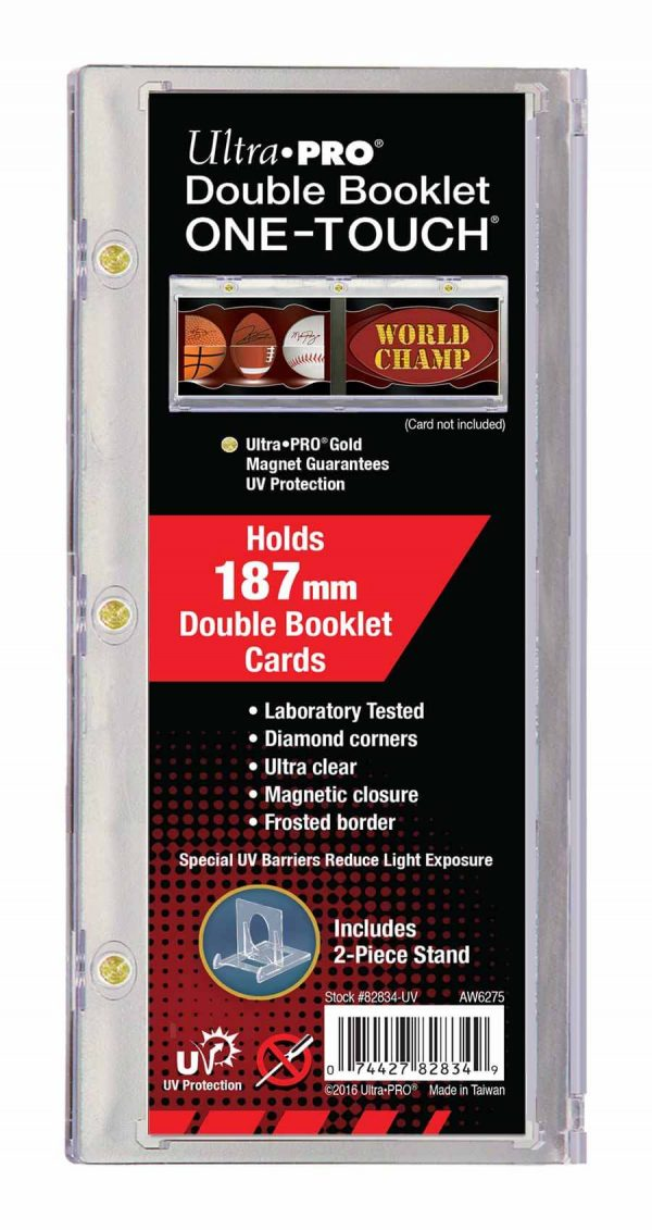 Ultra Pro Horizontal Booklet 187mm One Touch Magnetic Closure