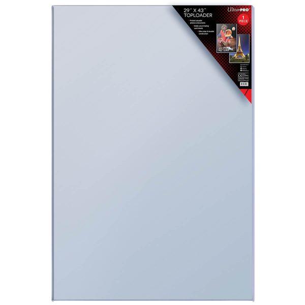 "Ultra Pro 29"" x 43"" Poster Toploader - 1"