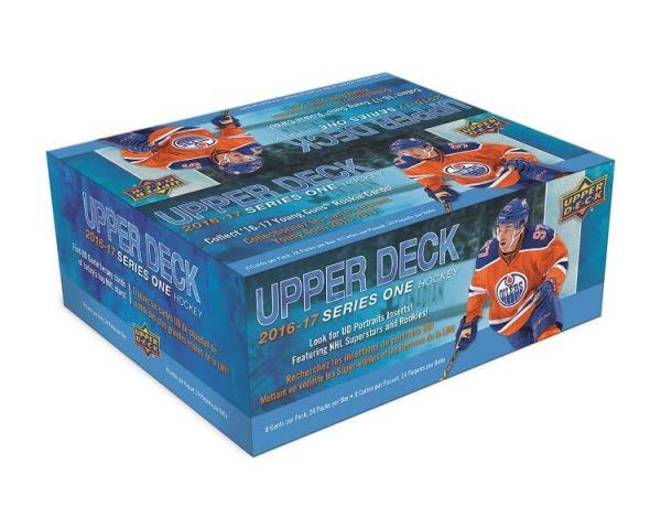2016-17 Upper Deck Series 1 Hockey Retail Box
