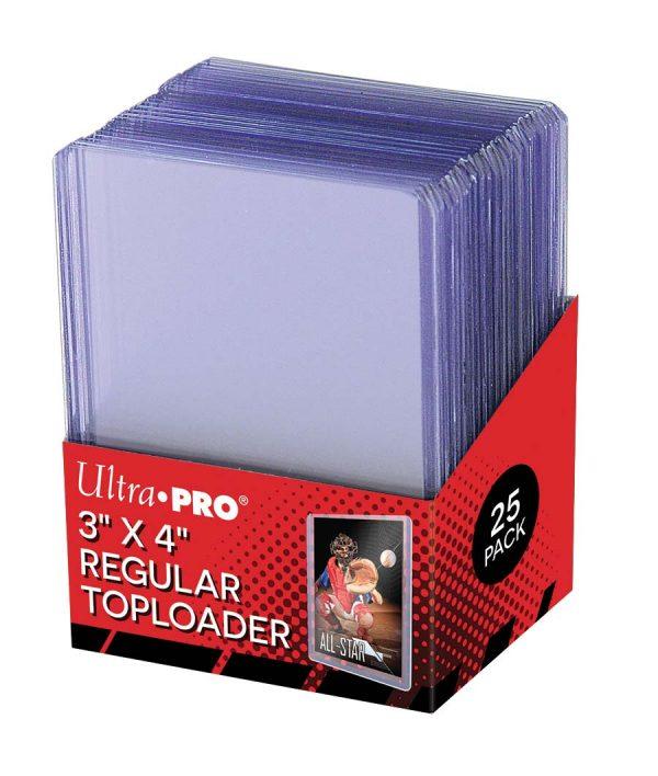 Ultra Pro Regular Toploaders - Pack of 25